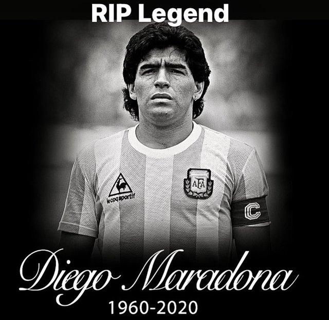 Diego Maradona meninggal dunia - IGfcpexe