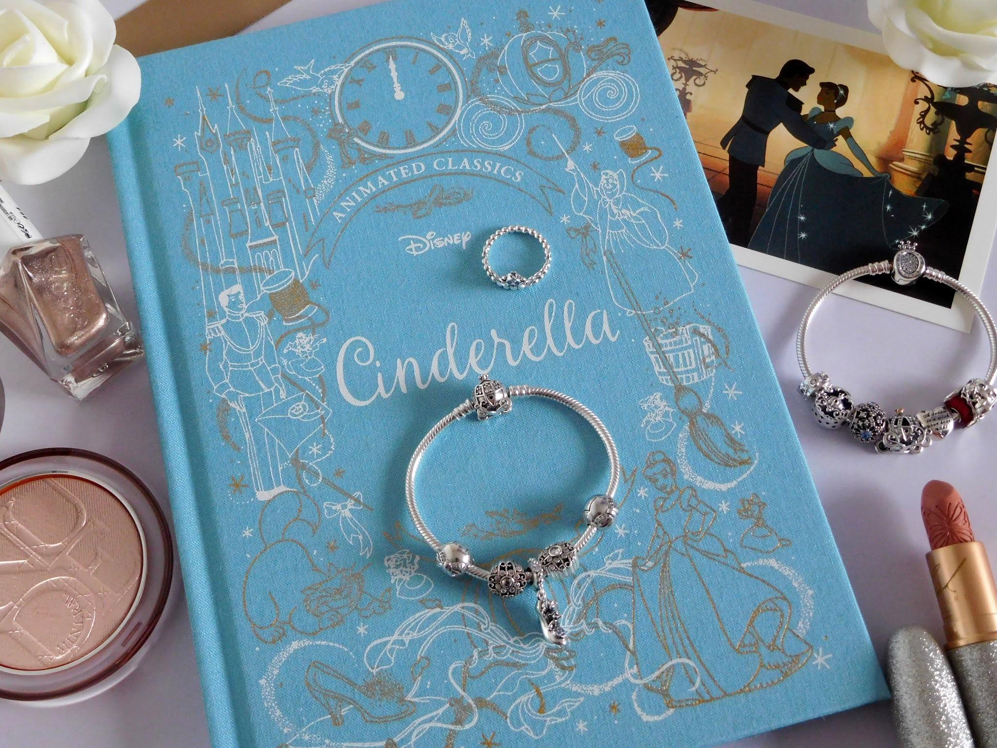 Pandora Disney Cinderella Blue Tiara Ring and Pumpkin Coach ...