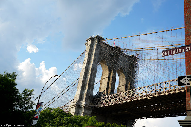Puente de Brooklyn desde Dumbo