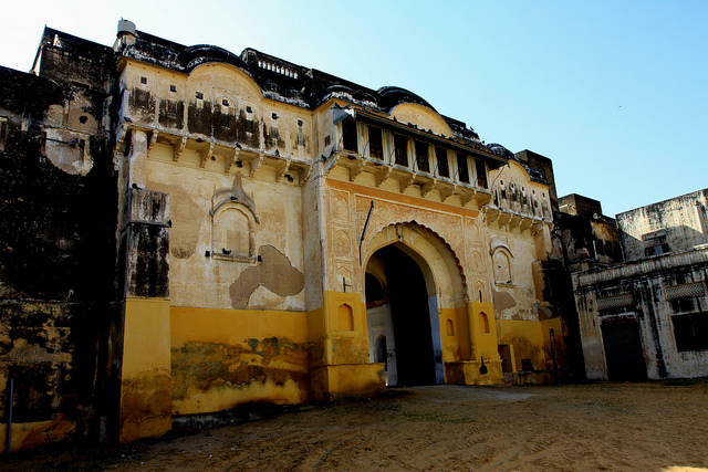 bissau fort tourist attraction Rajasthan jhunjhunu