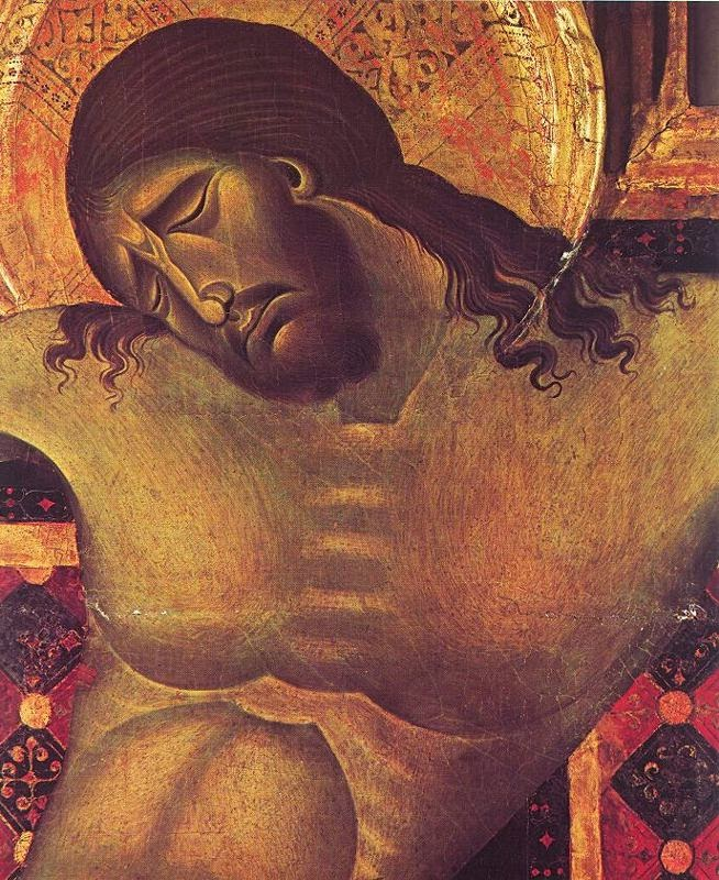 Crucifixo 1 - Giovanni Cimabue e suas pinturas ~ O criador de mosaicos