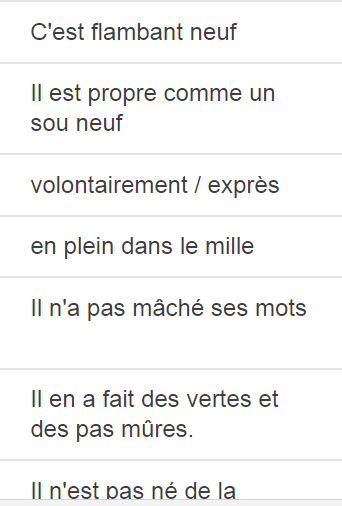 phrases qu u00b4on utilise quotidiennement en fran u00e7ais
