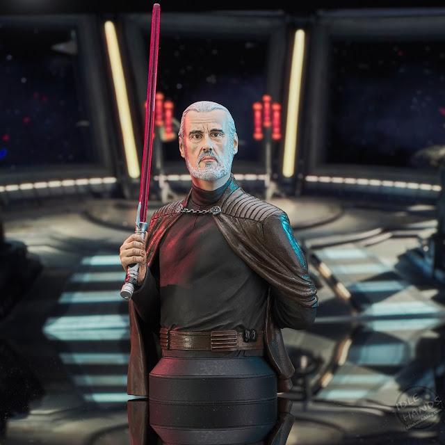Diamond Select Star Wars Revenge of the Sith Count Dooku Mini-Bust