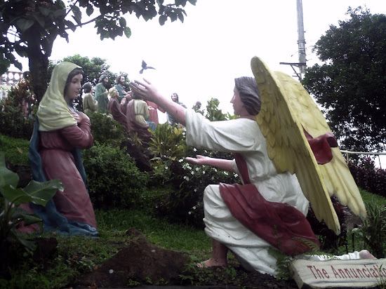 The Annunciation in Kamay ni Hesus Shrine at Lucban, Quezon