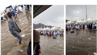 Viral Video Banjir di Mina, Begini Keadaan Sebenarnya