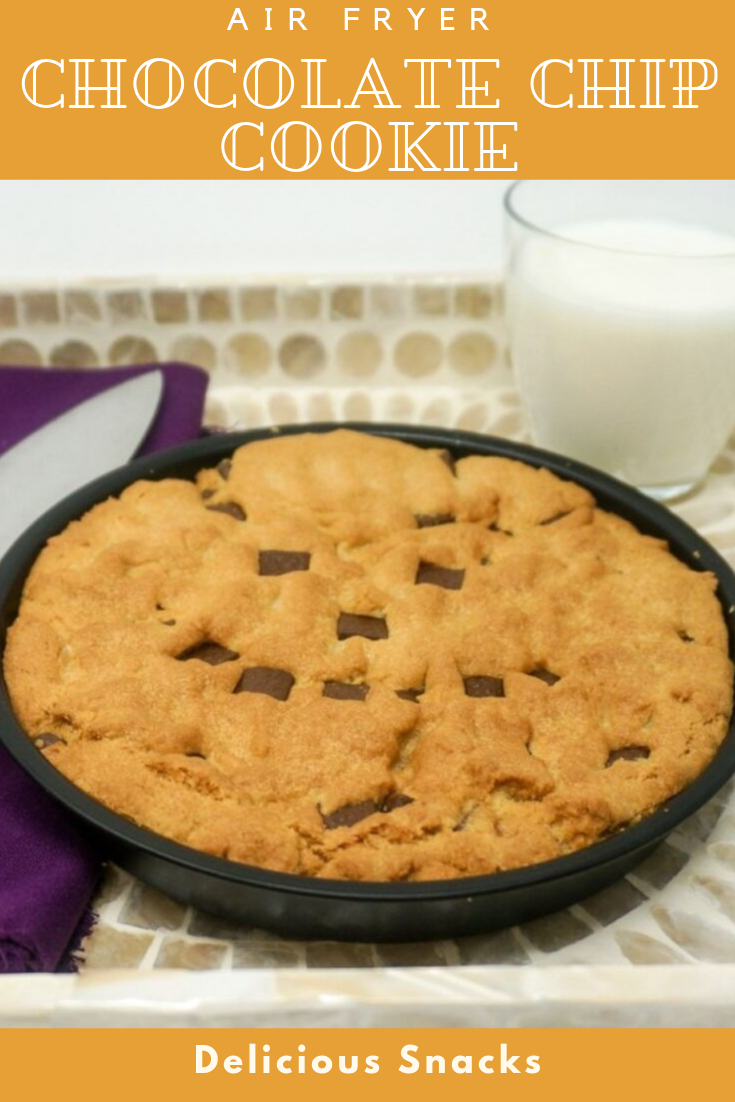 #Yummy #Air #Fryer #Chocolate #Chip #Cookie #snacks