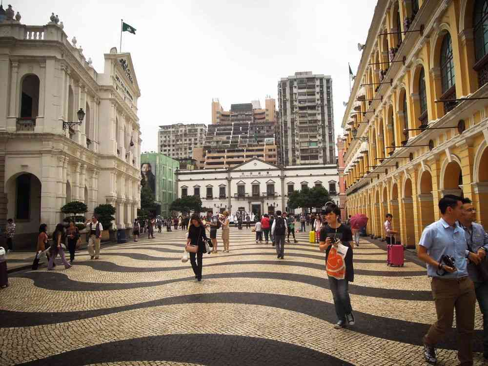 Largo do Senado in Macau