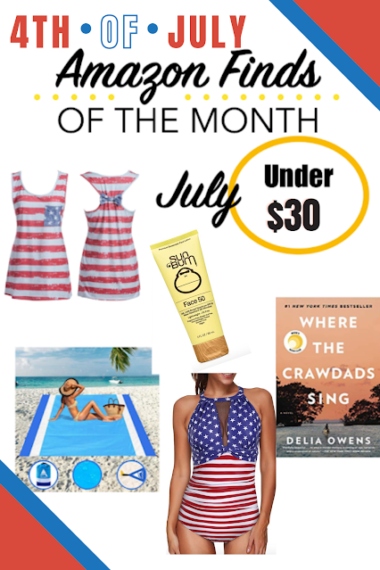 4th of July Amazon Finds Under $30