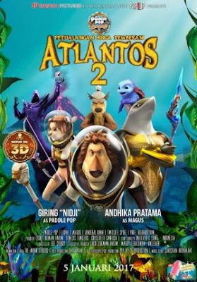 Trailer Film Petualangan Singa Pemberani Atlantos 2 2017