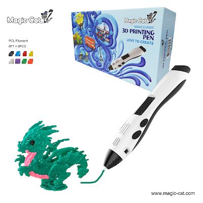 Magic Cat 3D Pen and Dragon Creation