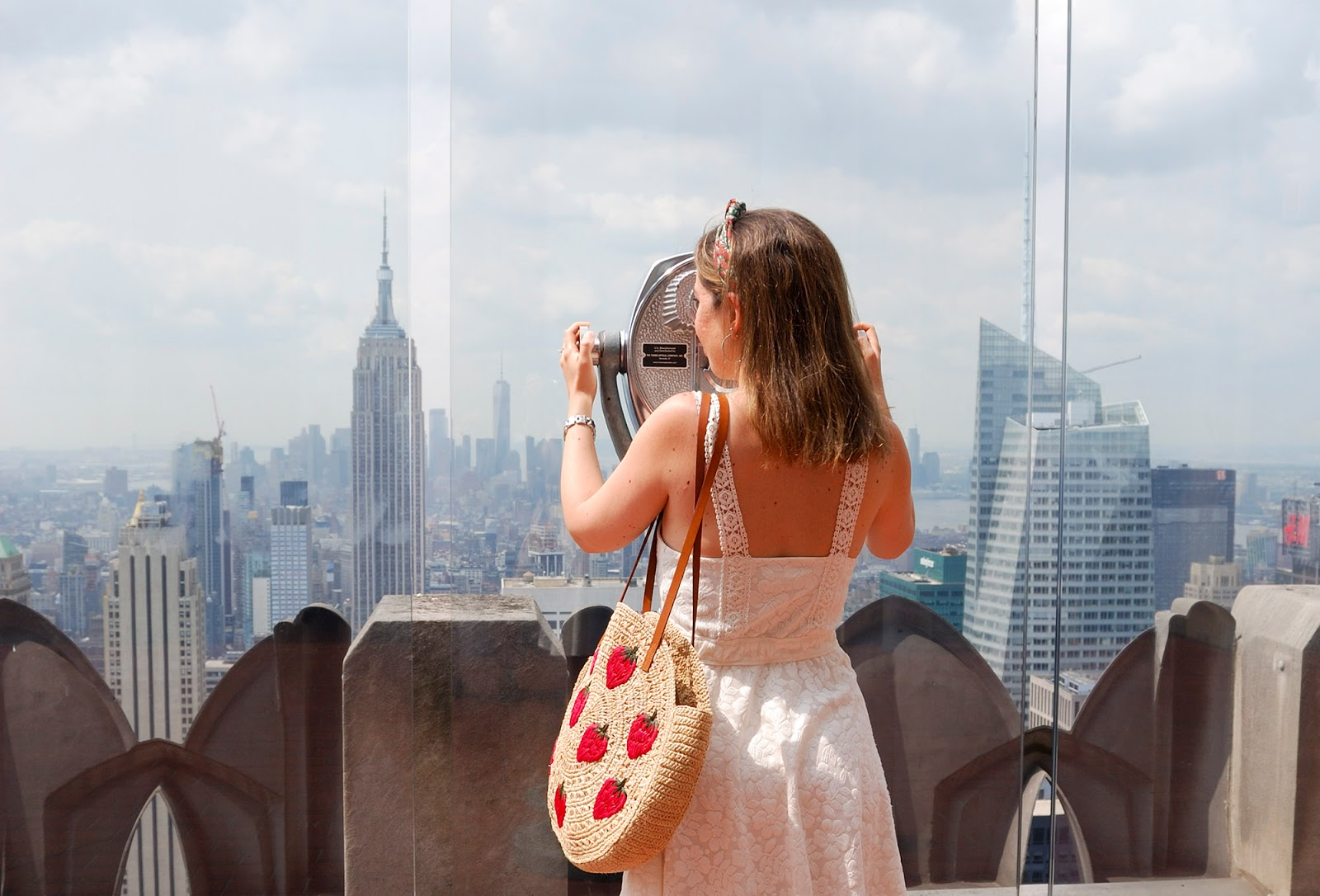 new york itinerary guide plan manhattan top of the rock deck observatory rockefeller center empire state building