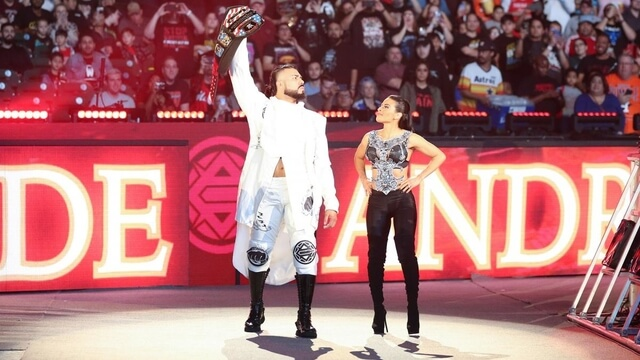 Andrade Suspended By WWE For 30 Days