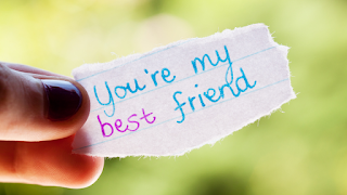 A best friend makes you talk longer, smile wider, and laugh harder than you thought possible.