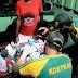 Satgas Pamtas RI-PNG, Obati Anak luka Sobek Di Pelipis Mata Saat Bermain Bola