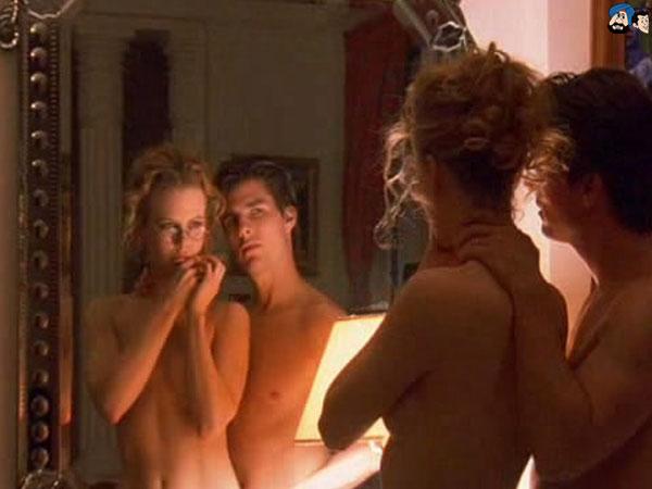 Men in pantyhosed dildo