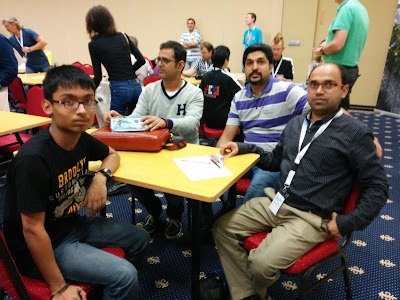 Indian Sudoku B Team at World Sudoku Championship 2016