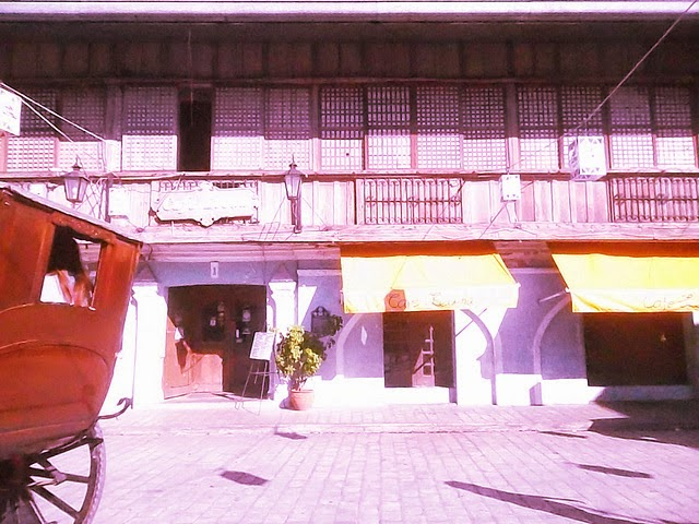 old houses at Vigan