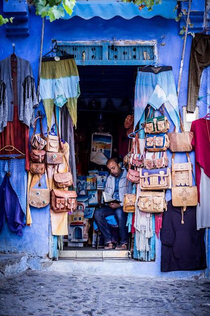 Septiembre - 'Vendedor en la Medina' de Carlos Larios