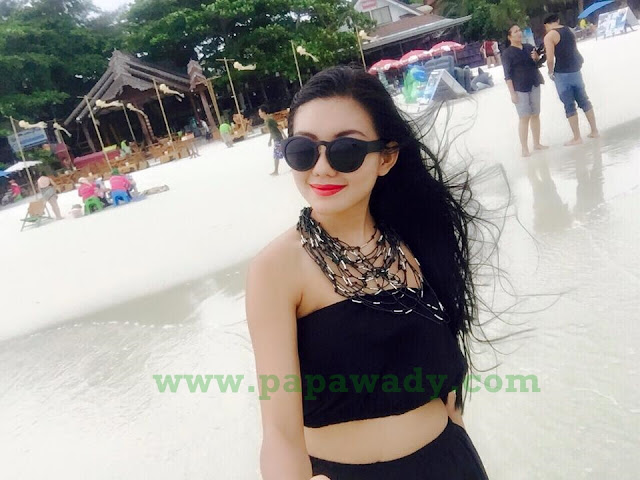 Myanmar Celebrity May Myint Mo Thailand Trip Album 2