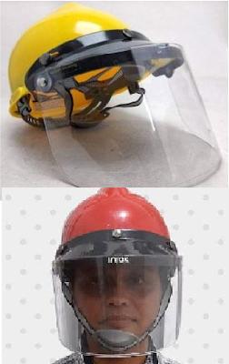 Face Shield Dewasa Helmet