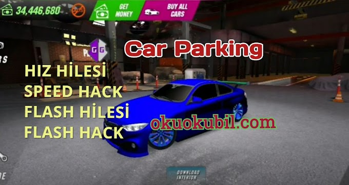 Car Parking Hız-Flash ve Multiplayer Hilesi Yeni Script 2020