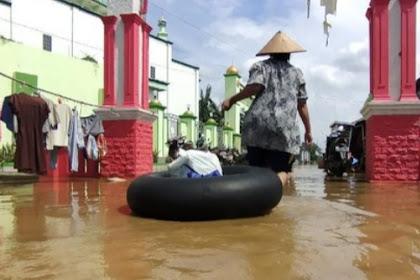 Sudah 2 pekan banjir masih merendam Pati