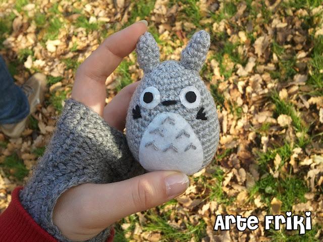 Totoro amigurumi chibi crochet ganchillo