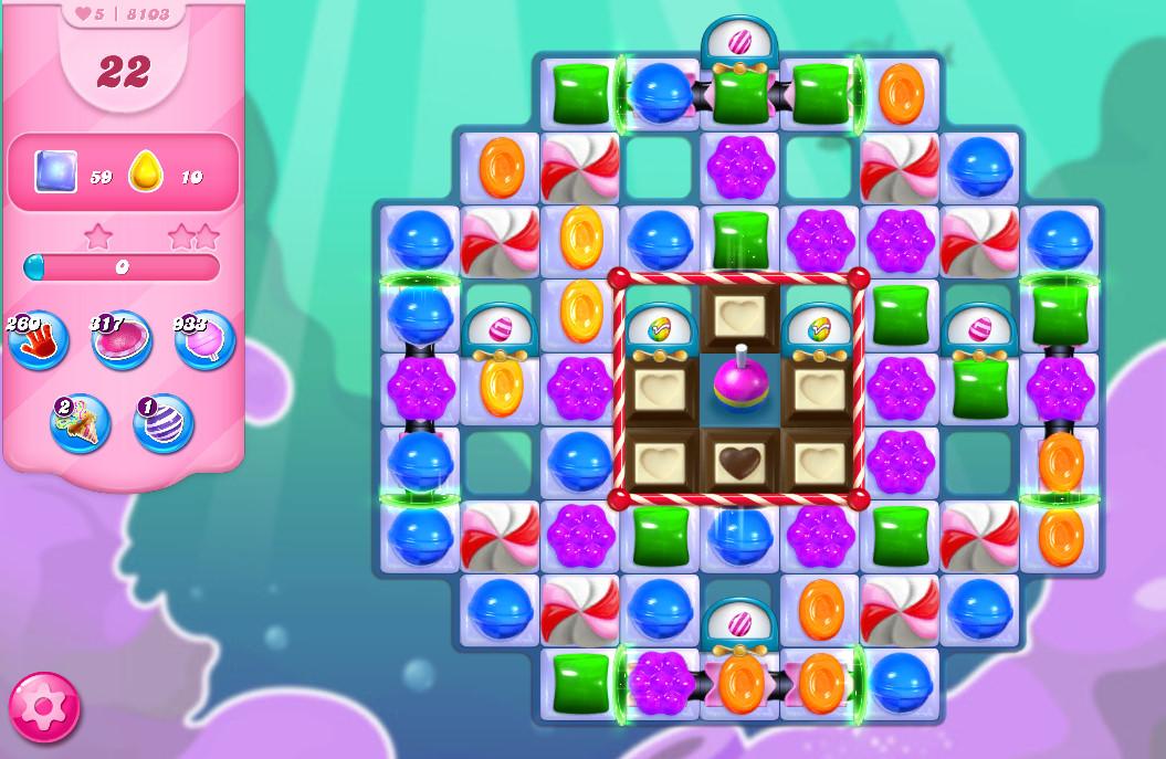 Candy Crush Saga level 8103