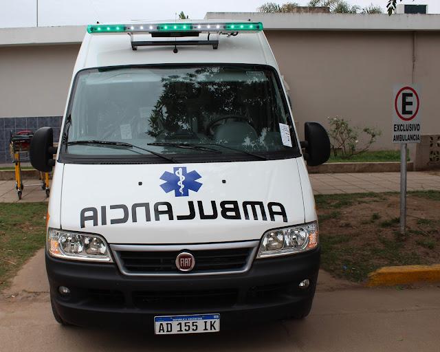 Hospital Monte Maíz, Ambulancia