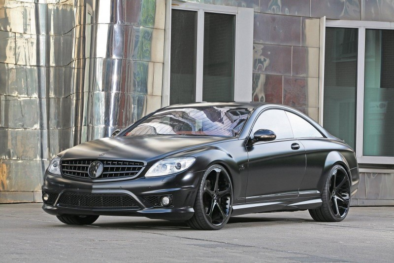 Anderson Germany Mercedes-Benz CL 65 AMG Black Edition ...