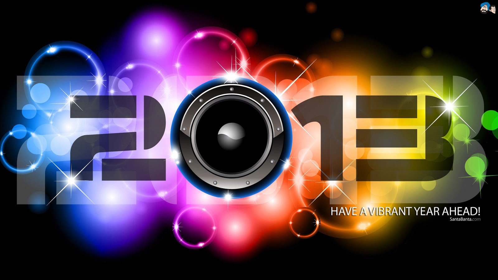 vibrant new year wallpapers