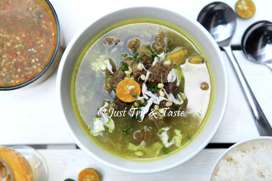 Resep Soto Daging Sapi a la My Mom JTT