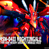 HGUC 1/144 MSN-04II Nightingale fan made box art by GKC