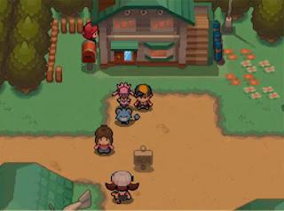 Pokemon Shadow Legendz para NDS Pueblo Primavera