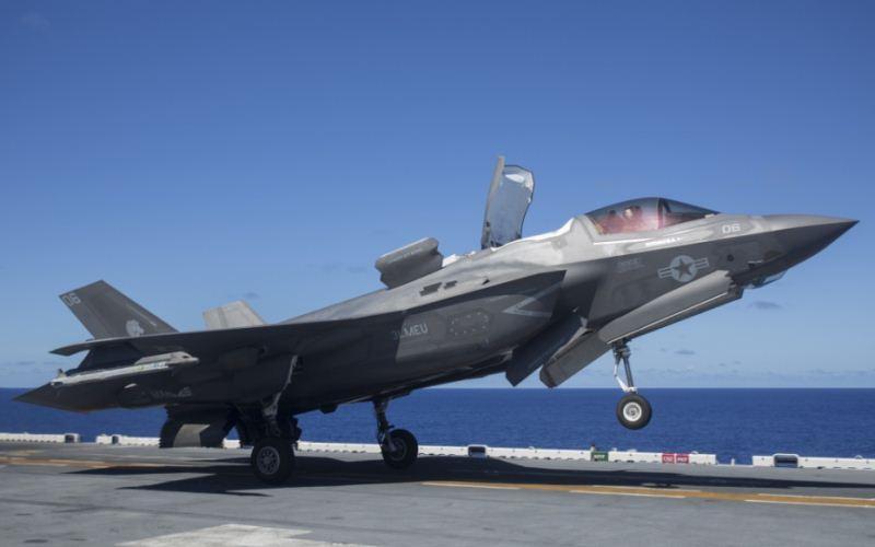 F-35B Angkatan Laut AS