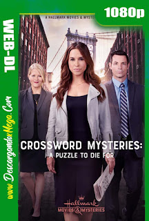 The Crossword Mysteries A Puzzle to Die For (2019) HD 1080p Latino