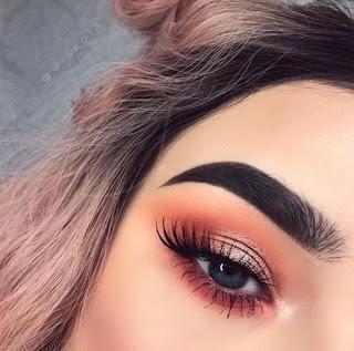 sombras de ojos color rosa