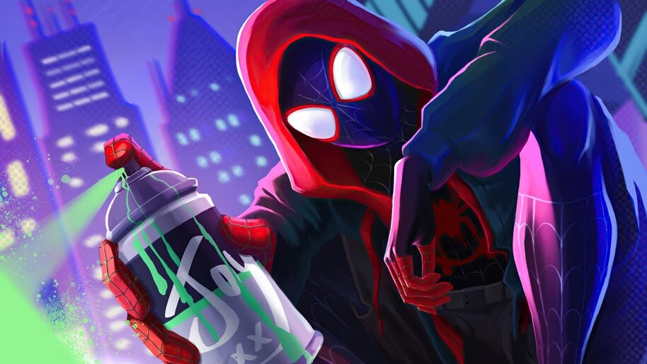 Spider-Man, Miles Morales, Into the Spider-Verse, 4K, #6.2552