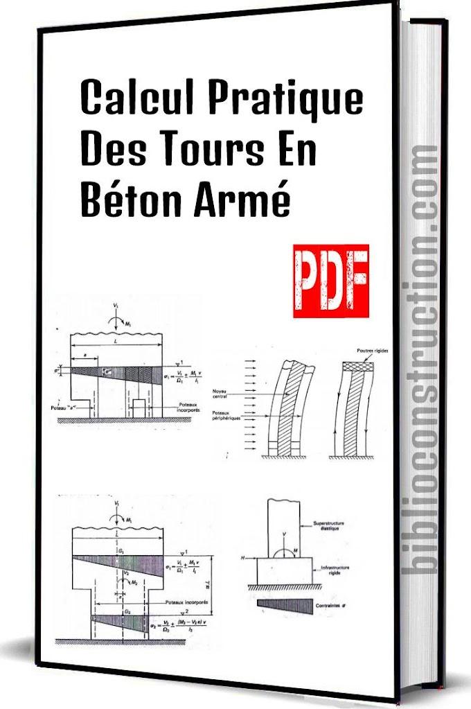 Calcul Pratique Des Tours En Béton Armé pdf