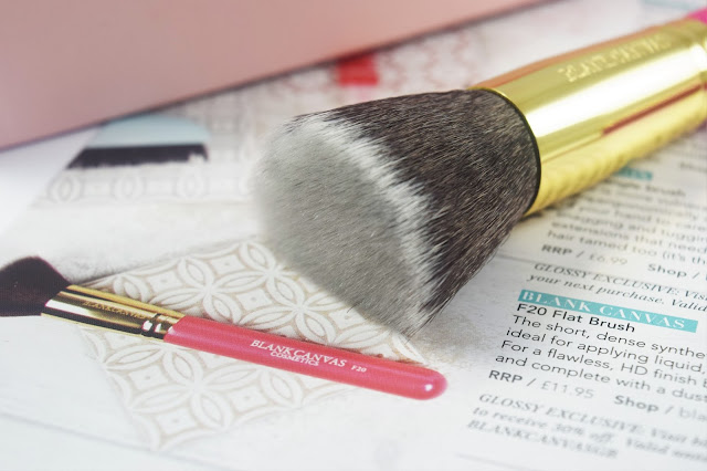Blank Canvas Cosmetics F20 Flat Brush
