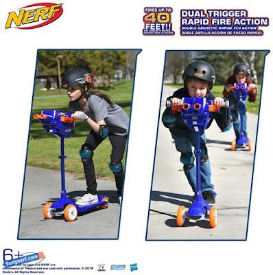 Xe chòi chân Nerf Scooter 4