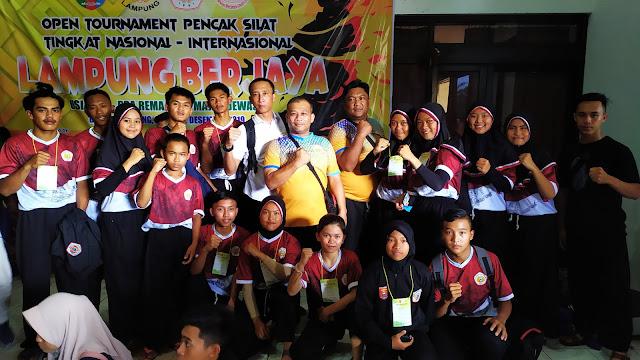 Hari Kedua Lampung Berjaya Open 2019, Atlet Pencak Silat Lambar Sabet Dua Emas