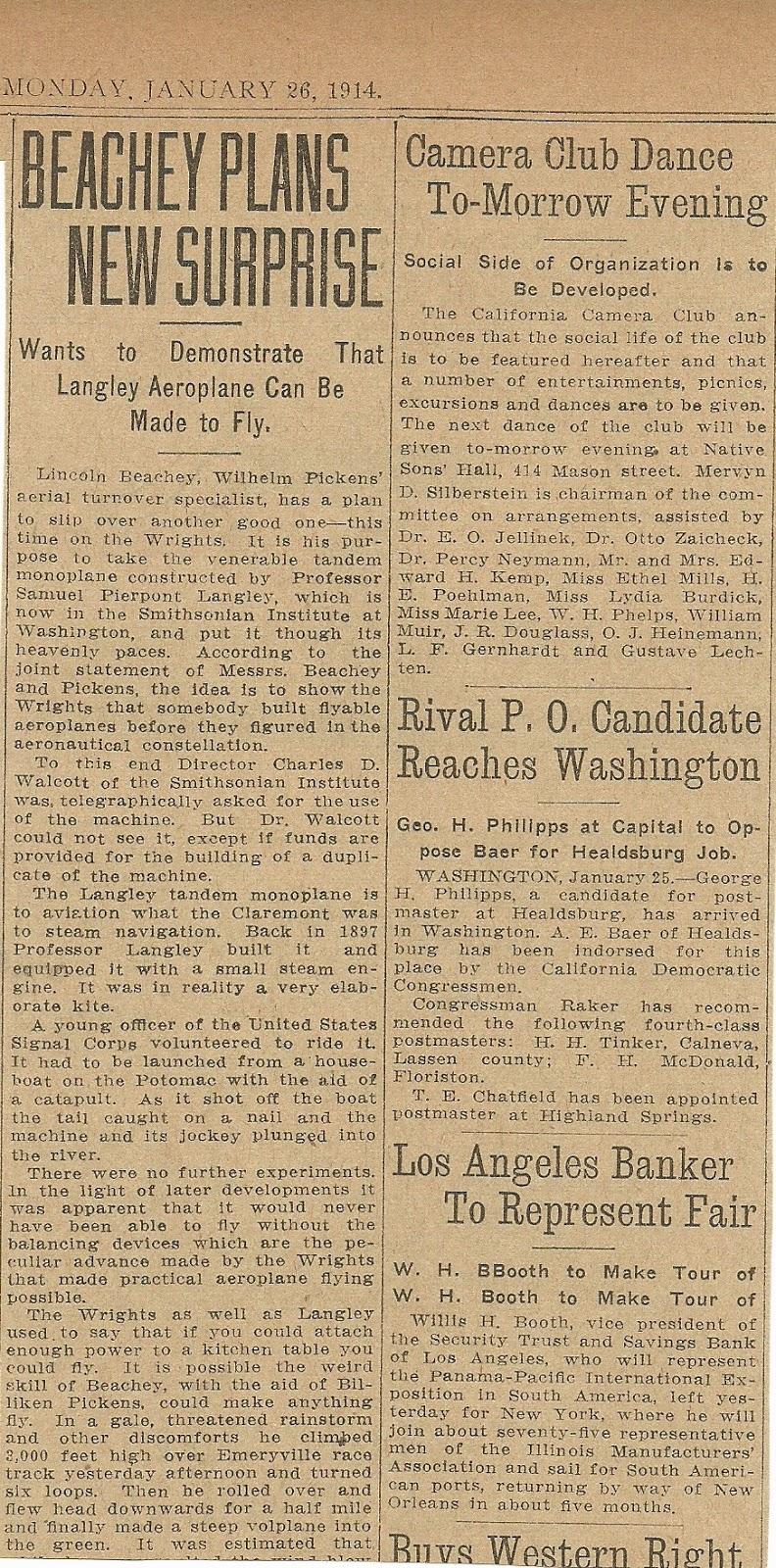 January 26, 1914