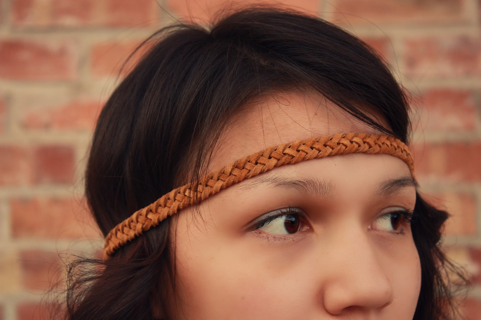 Dream Catcher Baby//: tutorial: leather head band