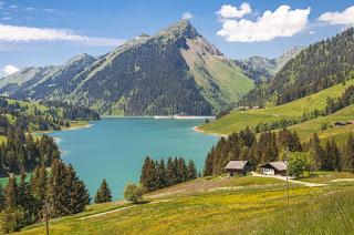 paisagem na suiça