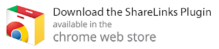 Download the ShareLinks Plugin - available in the chrome web store