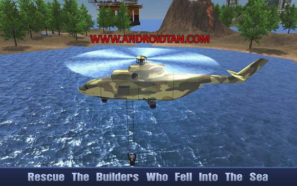 Offshore Oil Helicopter Cargo Mod Apk for Android