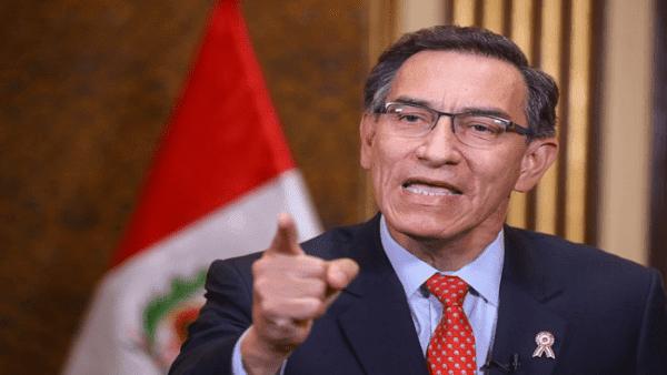 Presidente peruano llevará a referendo inmunidad parlamentaria