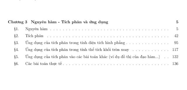 Bài tập chuyên đề nguyên hàm - tích phân , có đáp án chi tiết