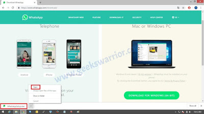 How to Install WhatsApp on Windows 8.1